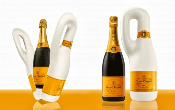 Veuve Clicquot Champagne viene en Pack Biodegradable