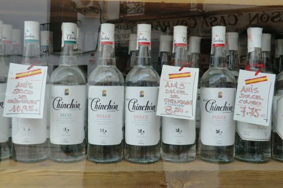 Botellas de Chinchón